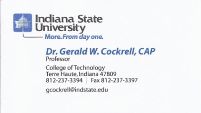 What business cards can teach us about evaluation reports business card from indiana state university colourmoves